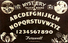 Mystery Talking Board