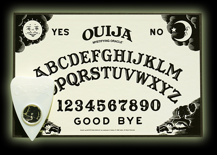 Ouija: It Glows in the Dark!